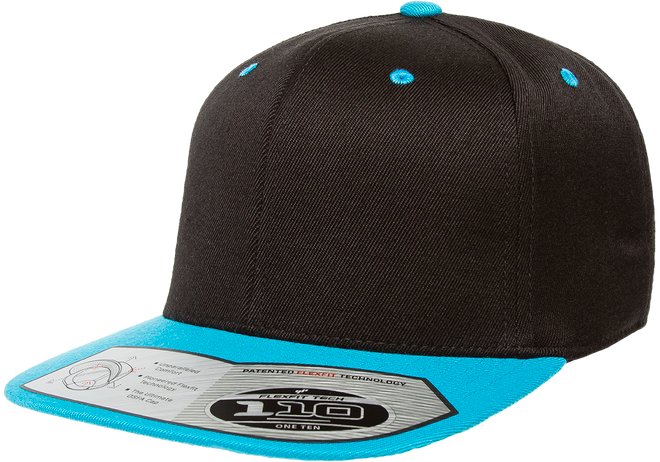 6ced811ddc9 110FT Flexfit One Ten Snapback 2 Tone - The Hat Pros