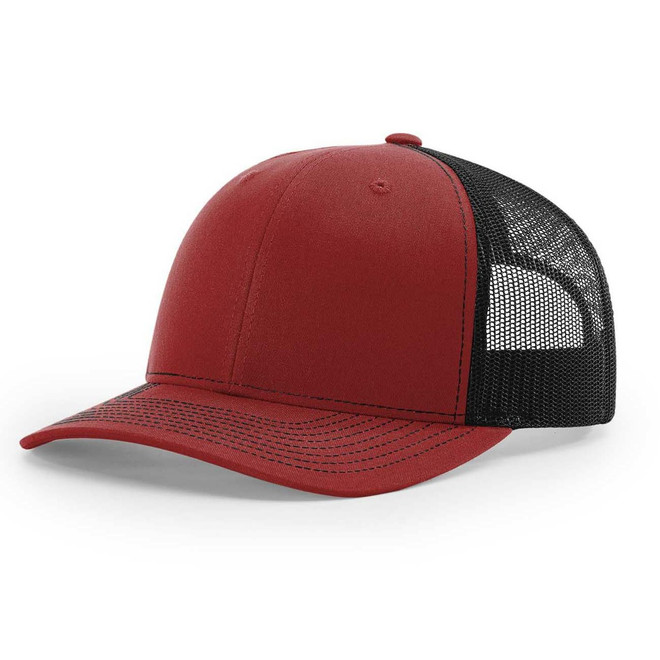Richardson 112 Twill Mesh Back Trucker Snapback Cap