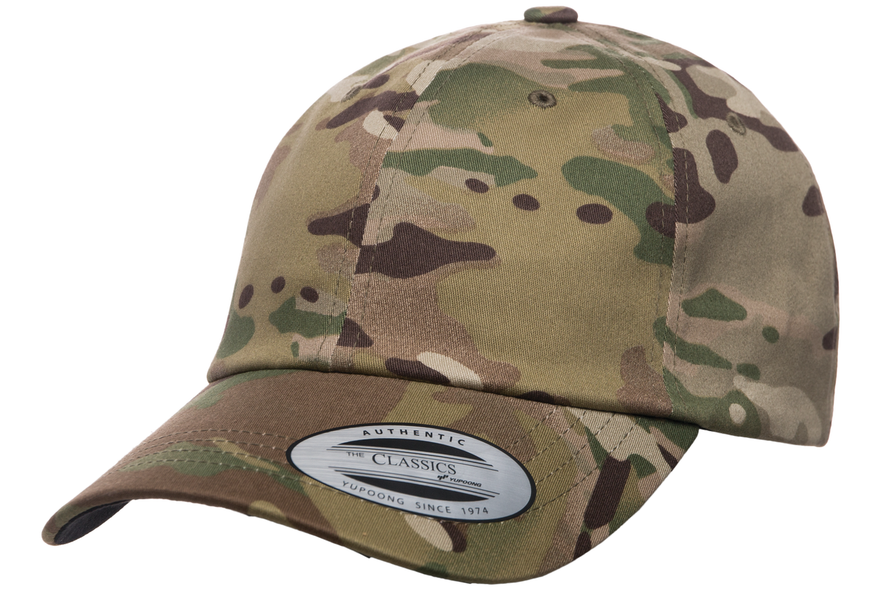6245MC Low Profile Cotton Twill Multicam - The Hat Pros b50db942dad3