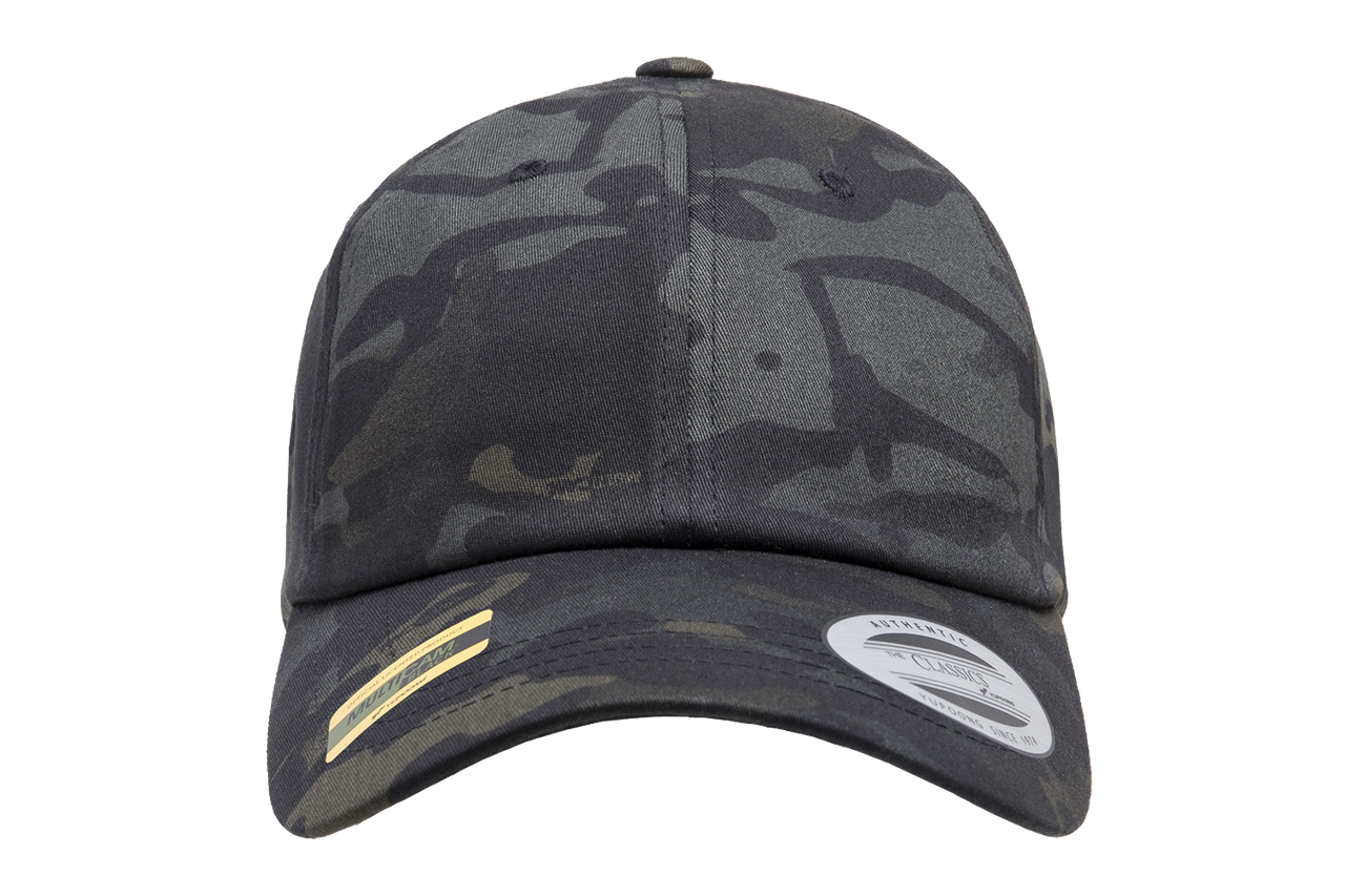 0bb23343822 6245MC Low Profile Cotton Twill Multicam - The Hat Pros