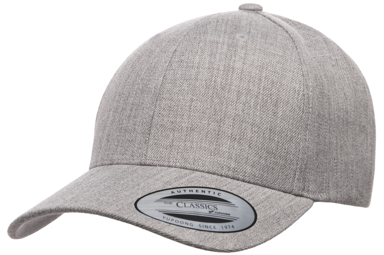 6789M Yupoong Premium Curved Visor Snapback - The Hat Pros 7284c45b7a1