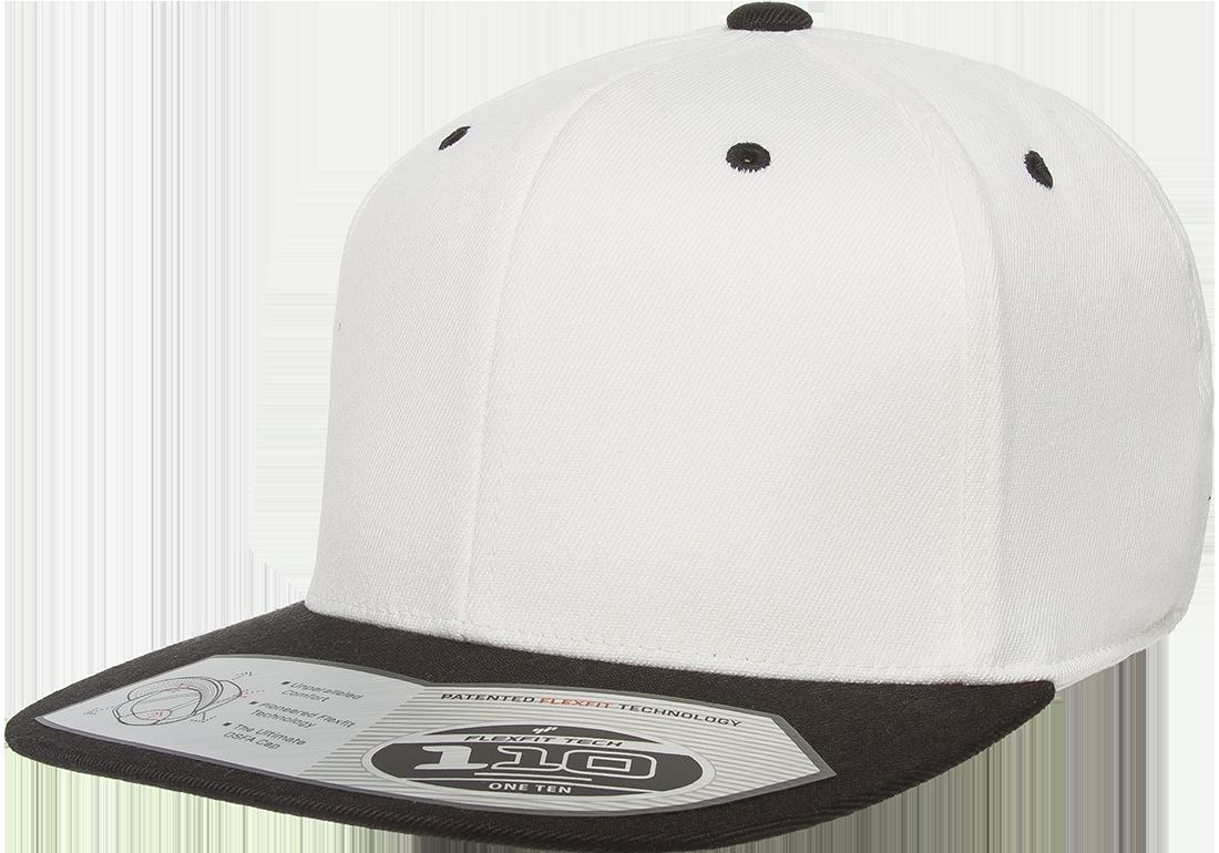 Flexfit Yupoong 110 Fitted Snapback Cap Flexfit One Ten 8 Colors