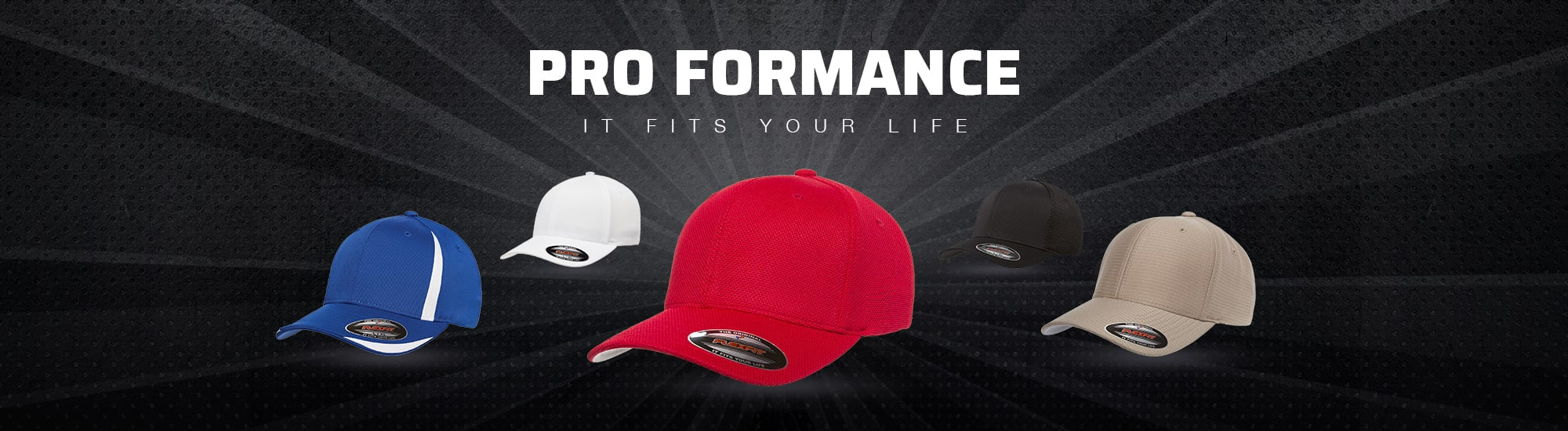 Custom Flexfit Hats and Custom Embroidered Flex Fit Hats – The Hat Pros a9e8776f4982