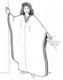 Belly Dance Pattern #24 - Alesandre's Abayeh by Atira