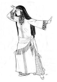 Belly Dance Pattern #29 - Cemiyeh's Caftan by Atira