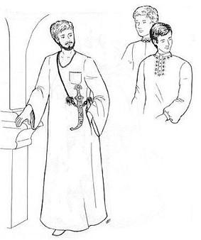 Belly Dance Pattern #32 - Abdul's Gallibiya by Atira