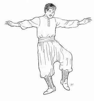 Belly Dance Pattern #34 - Ahmed's Chalwar by Atira