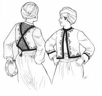 Belly Dance Pattern #35 - Ibrahim's Cepken by Atira