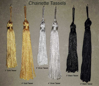 Belly Dance Make It Yourself ~ Chainette Tassels