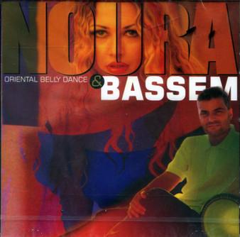 Noura & Bassem Oriental Belly Dance Music CD