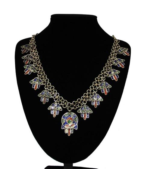 Berber Hand of Fatima Necklace