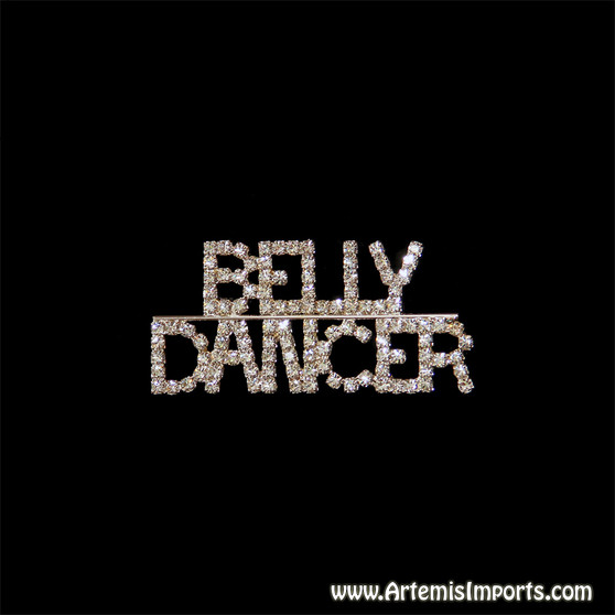 """Belly Dancer"" Brooch (Pin)"
