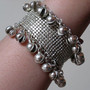 Bracelet - Large Ghungroo Bells in Silver