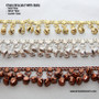 Chain Bracelet With Bells in gold tone, silver tone and copper tone colored metal to help you accessorize your belly dance costume.