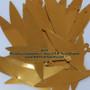 """Gold Paillettes (Spangles) ~ Size: 3 1/4"""" Tear Shaped Paillettes"""