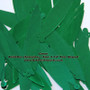 "Green Paillettes (Spangles) ~ Size: 3 1/4"" Tear Shaped Paillettes"