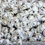 Silver Tone Binty Bells (Ghungroo Bells) to Make Your Own Belly Dance Costume
