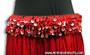 Mozuna Hip Belt - Belly Dance in Red