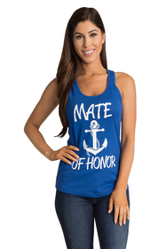Zynotti's Nautical Anchor Mate of Honor Tank Top