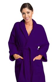 Zynotti's Unisex Velour Shawl Robe