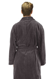 Zynotti's Personalized Men's Velour Shawl Robe