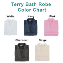 Matching Personalized Embroidered Terry Bath Robes