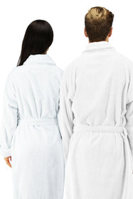 Matching Personalized Embroidered Bath Robes