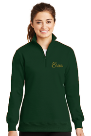 Women's Personalized Embroidered Quarter Zip