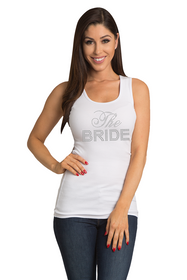 Zynotti's Big Bling The Bride Ribbed Tank