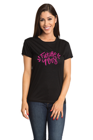 Zynotti Future Mrs Crew Neck Bachelorette Engagement Party Black Shirt