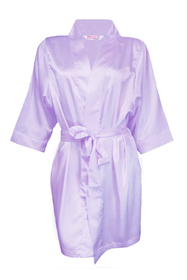 Rhinestone Flower Girl Satin Robe - Available in 25 Robe Colors