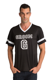Zynotti's Groom Football Jersey