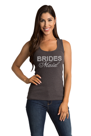 Zynotti's Lace Tank with Rhinestone Big Bling Bridesmaid