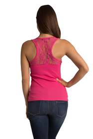 Zynotti's Lace Tank with Rhinestone Big Bling Maid of Honor