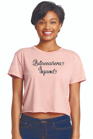 Zynotti Quince Squad Desert Pink Crop Tee