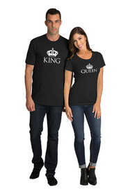 Matching King & Queen T-Shirt Set