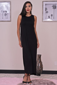 Zynotti sleeveless maxi dress