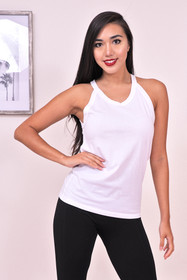 Zynotti White Tank Top