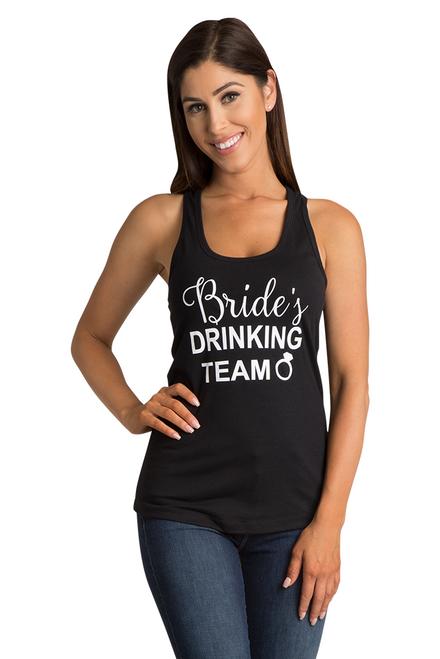 Zynotti's Bride's Drinking Team Tank Top