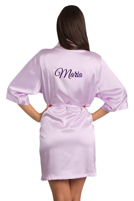 custom purple robe