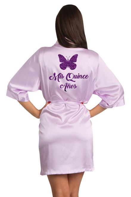 personalize quinceanera robe