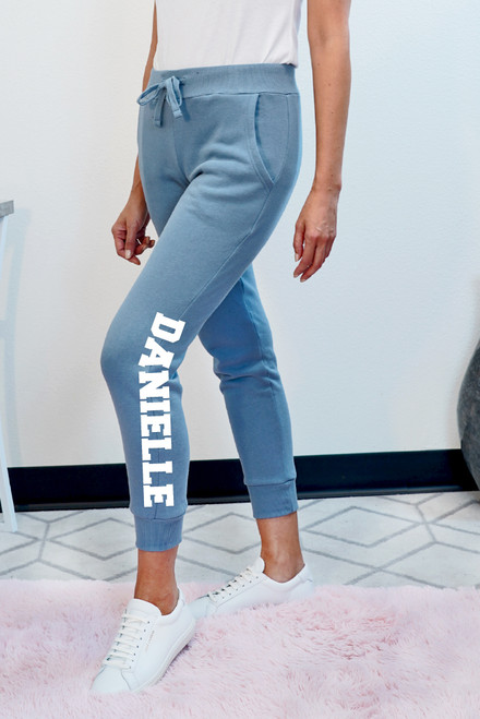 personalized jogger pants