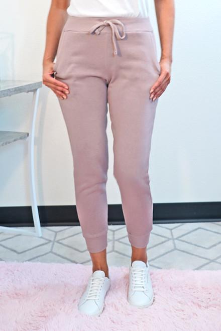 Fleece Jogger sweatpants for women