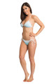 Rhinestone Just Married Lace Bikini
