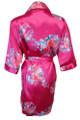 Fuchsia Floral Robes