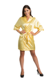 Zynotti Custom Embroidered Maid of Honor Satin Robe