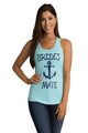 Zynotti's Nautical Anchor Bride's Mate Tank Top