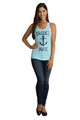 Zynotti's Nautical Anchor Bride's Mate Tank Top
