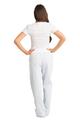 zynotti Women's Custom Print blue Flannel Pajama lounge sleepwear Pants