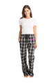 Personalized Embroidered Unisex Flannel Pajama Pant for Women